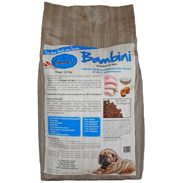 Emmas dog food Bambini puppy