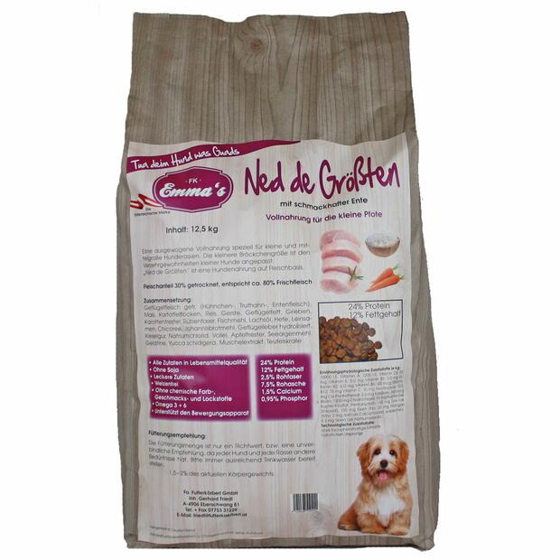 Emmas dog food Ned de Größten dry food