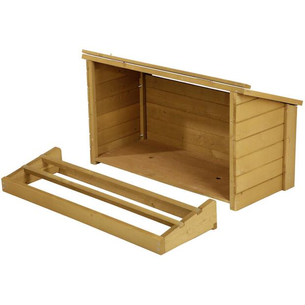 Laying nest for animal hutch 82807 85 x 37 x 48 cm