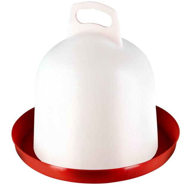 Double wall waterer poultry 120 litre