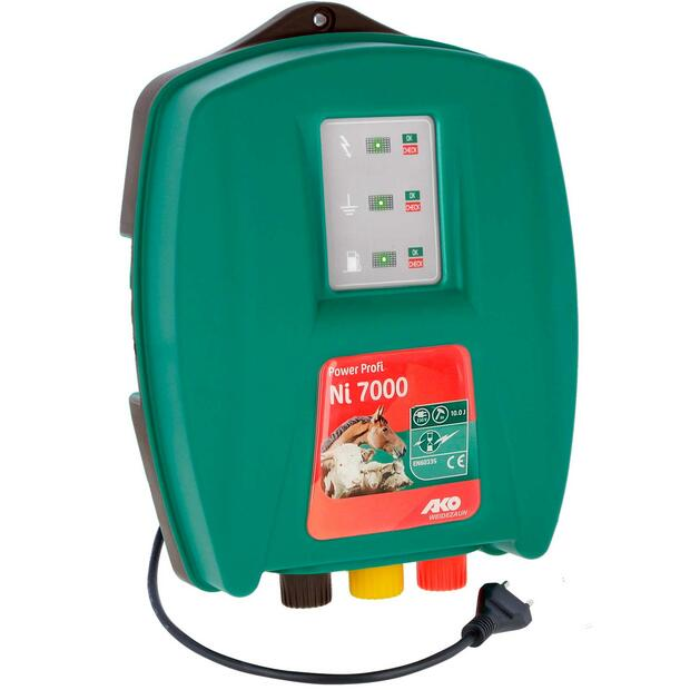 AKO Power Profi Ni 7000 electric fence energiser 230V, 10...