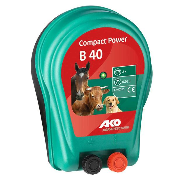 AKO Compact Power B 40 Battery Energizer 3V 0,07 joules