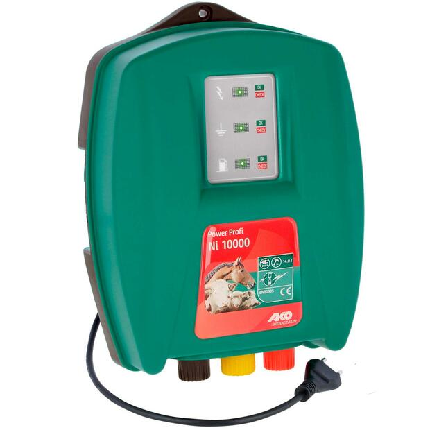 AKO Power Profi Ni 10000 electric fence energiser 230V,...