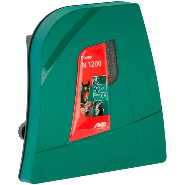 AKO Power N 1200 electric fence energiser 230V, 1,7 joules