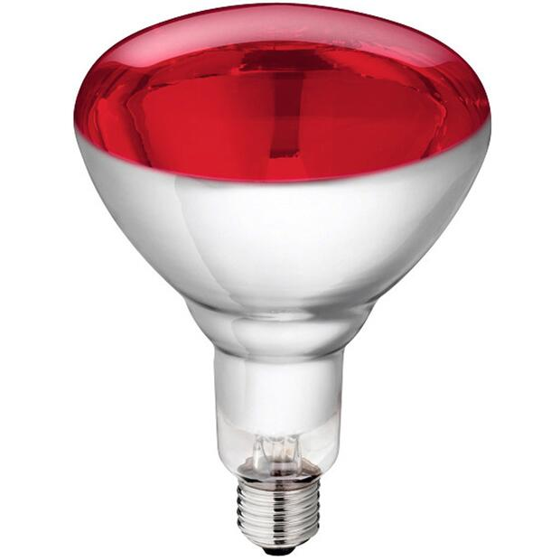 Philips hard glas infrared lamp 150 W red