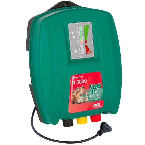 AKO Power Profi N 5000 electric fence energiser 230V, 7...