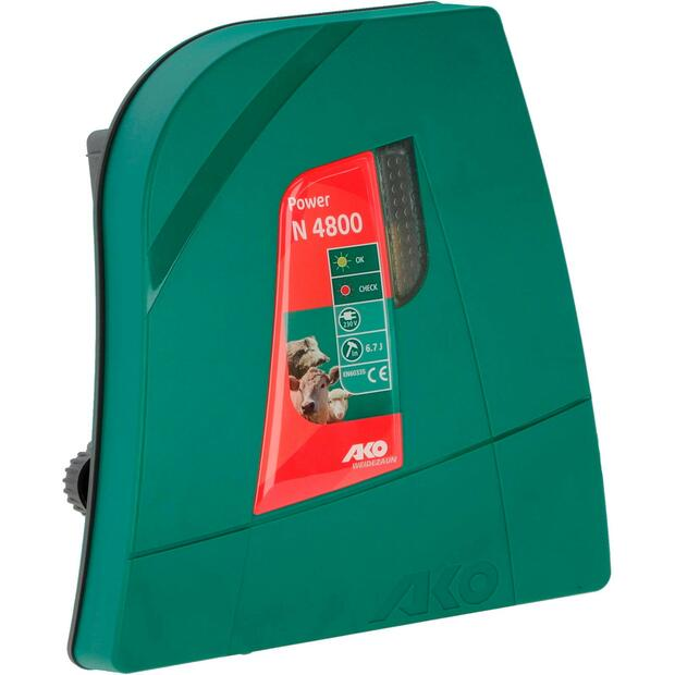 AKO Power N 4800 electric fence energiser 230V, 6,7 joules