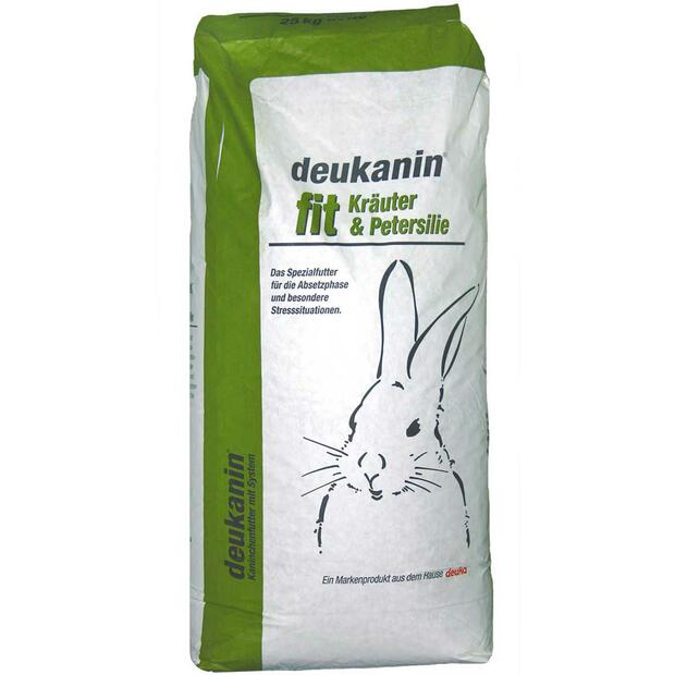 Deuka rodents pellets fit with herbs and parsley 25 kg