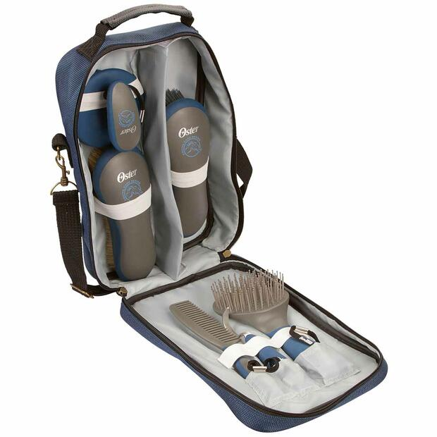 Oster Equine Care Series 7-Piece Grooming Kit - Blue