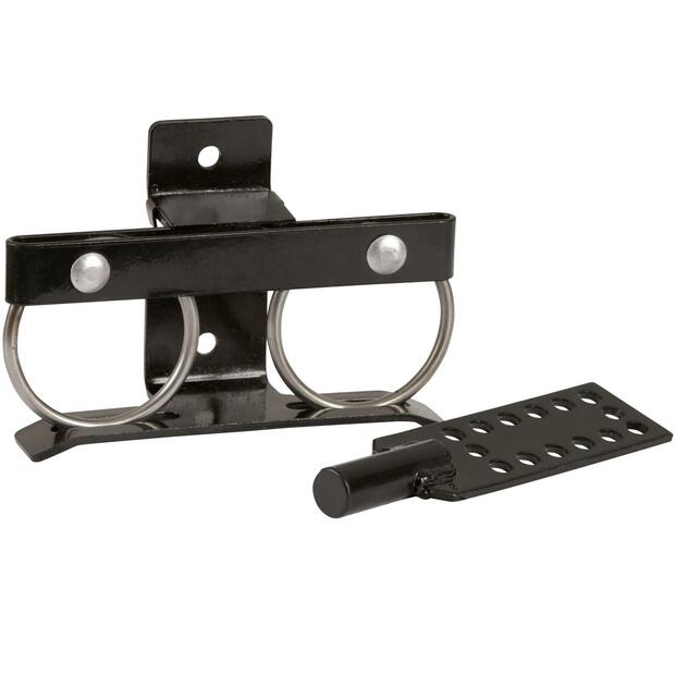 Swing-through lock for fence gates