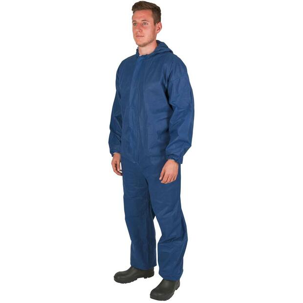Disposable Coverall blue