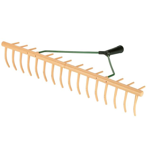 Plastic Bow Rake with grass catcher tines