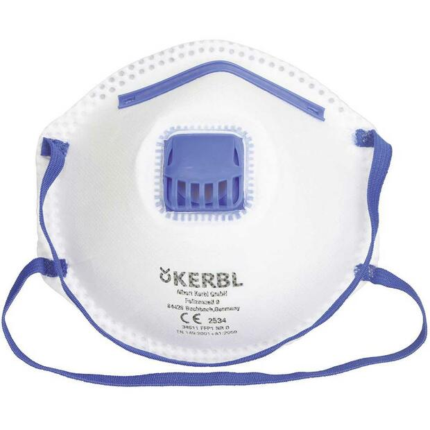 Dust Mask FFP2 NR D with Valve