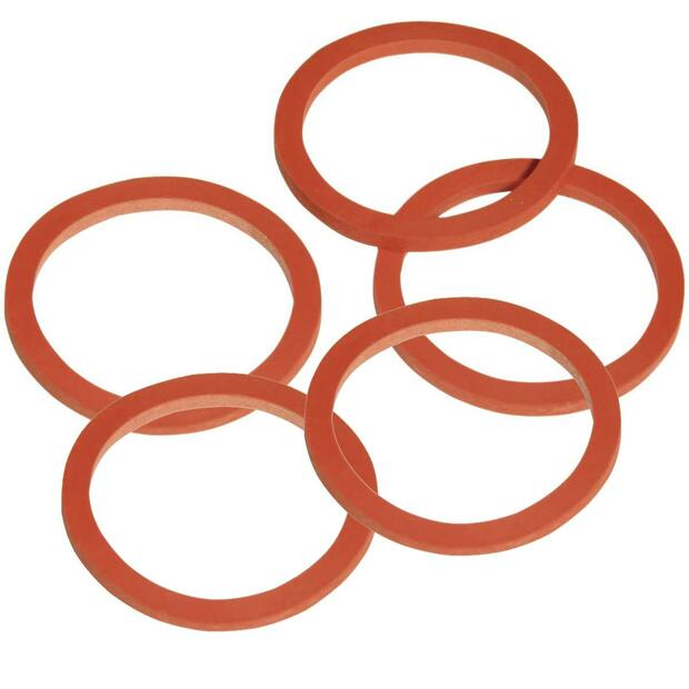 5 x Seal for Valve red 3mm