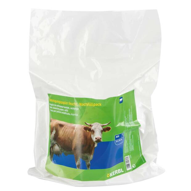 Udder towels wet refill package 800 towels