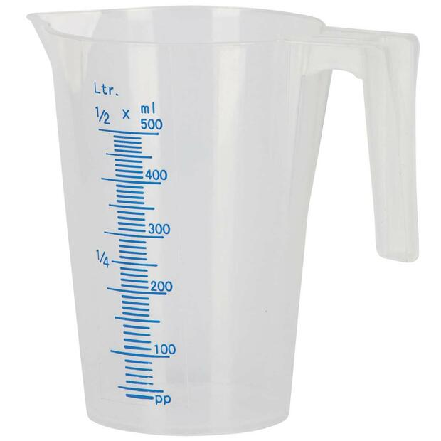 Measuring cup with scale