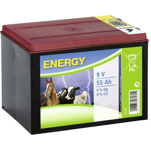Dry Battery Zinc-Air 9 V 55 Ah