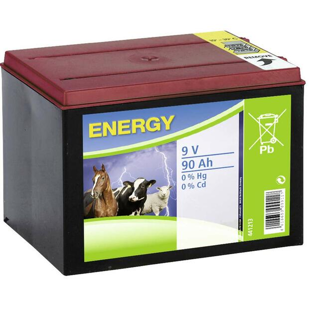 Dry Battery Zinc-Air 9V 90Ah