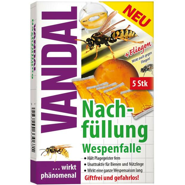 Vandal wasp trap refill 5 pcs.