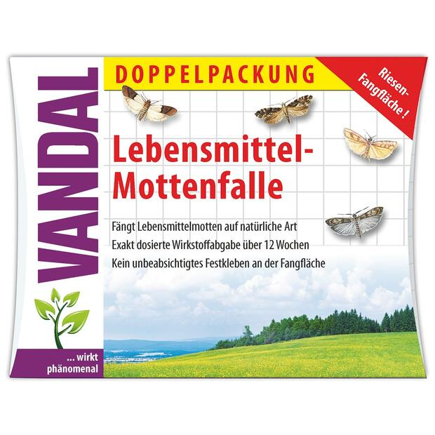 Vandal food moth trap double pack