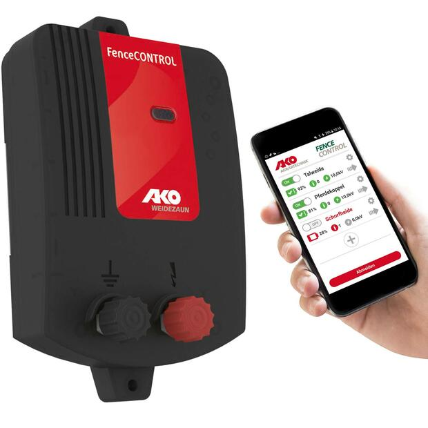 AKO Fence Control mobile monitoring