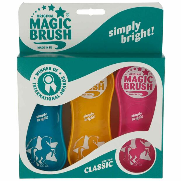 MagicBrush horse brush set Classic