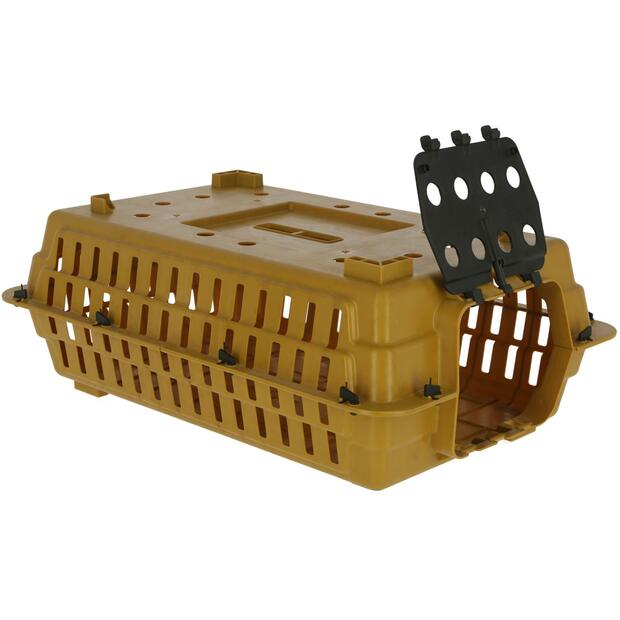 Poultry transport box brown