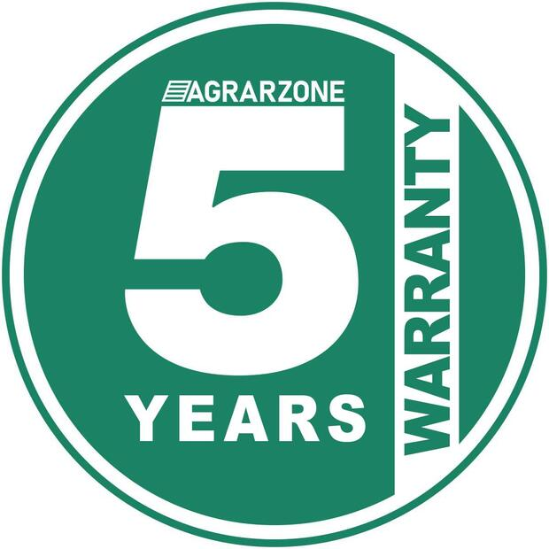 Warranty extension to 5 years
