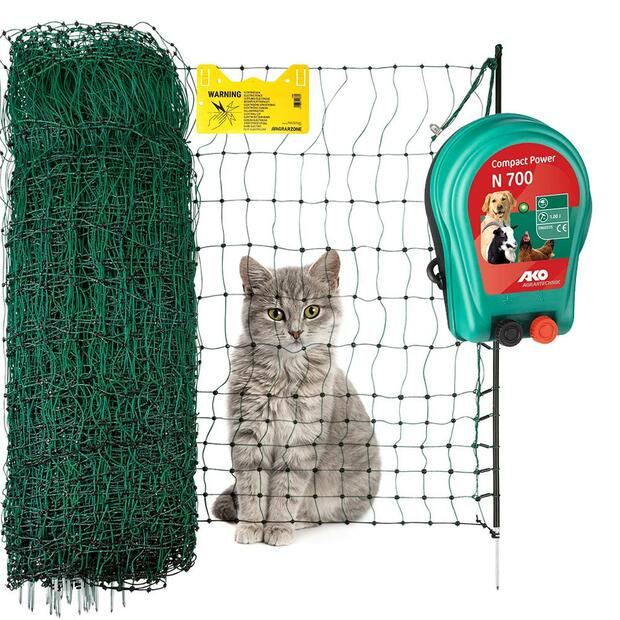 Agrarzone premium cat fence electric fence with 230V...