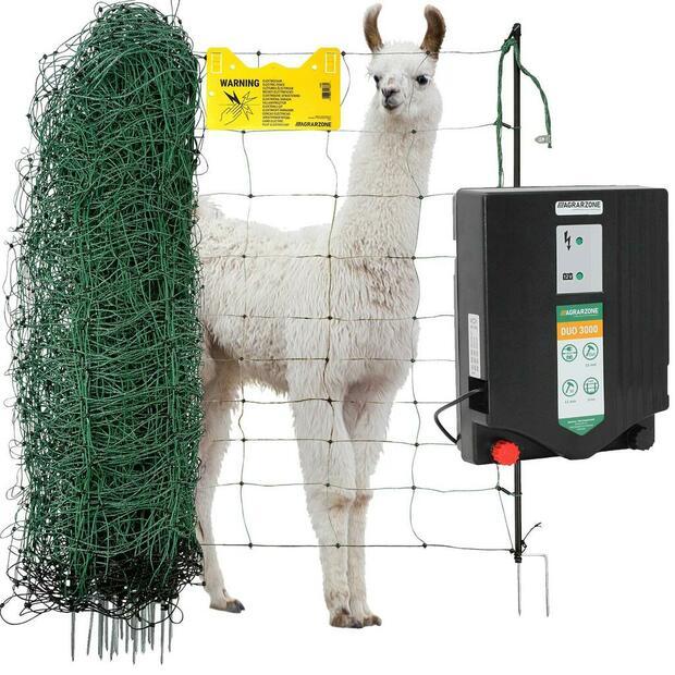 Agrarzone lama, alpaca and goat fence complete set