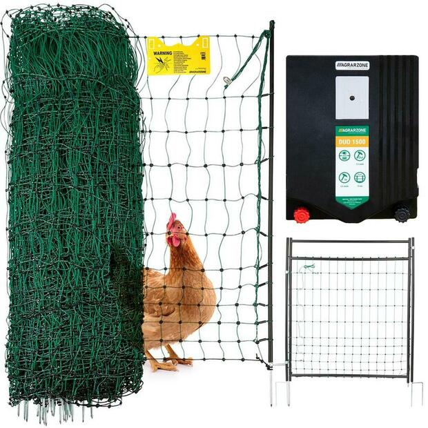 Agrarzone poultry net premium complete set (DUO 1500 +...