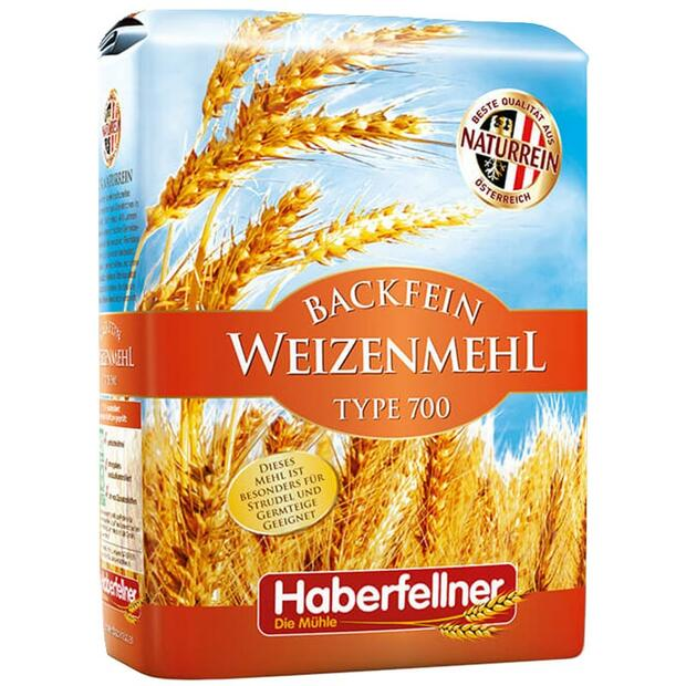 Haberfellner Wheat Flour Type 550 / W700 optimal