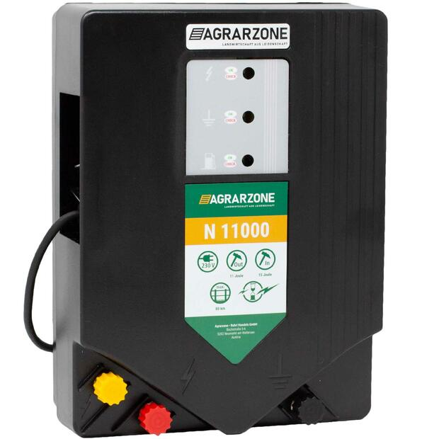 Agrarzone N 11000 electric fence energiser 230V, 15 joules
