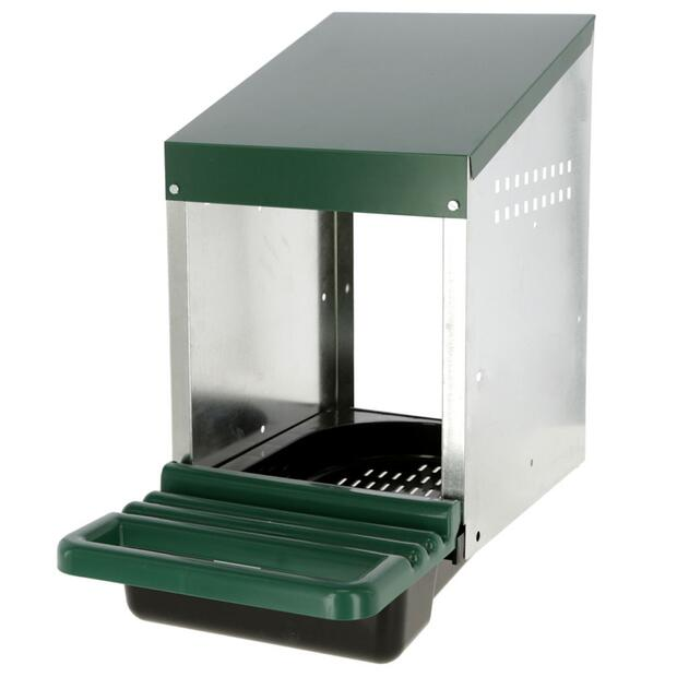 Laying nest for chickens metal plastic 1 compartment