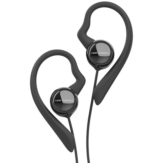 CEECOACH headset with earhook