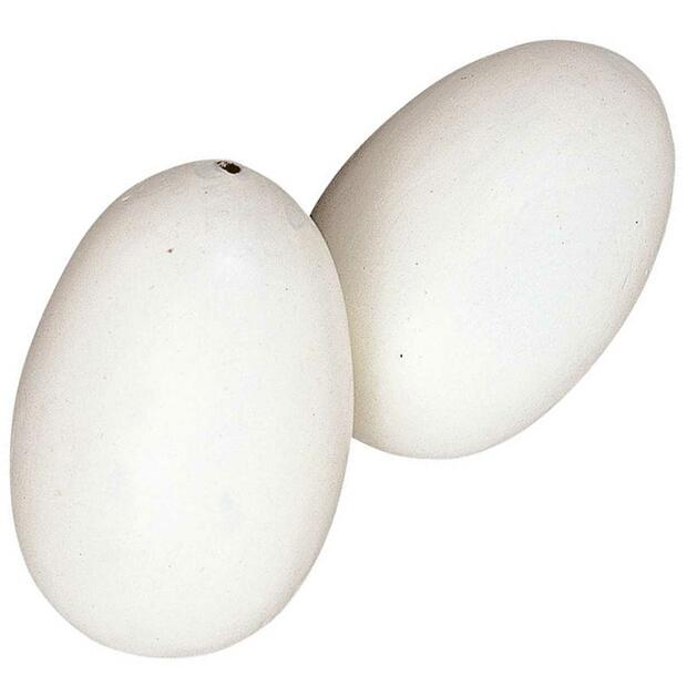 Artificial eggs for hens wood 2 pcs/pack