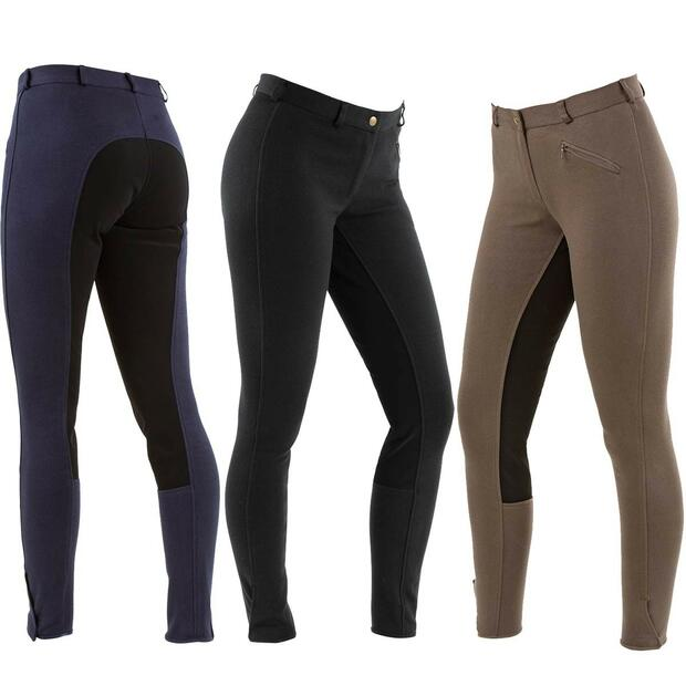 Covalliero breeches Economic, for ladies, black, size 44