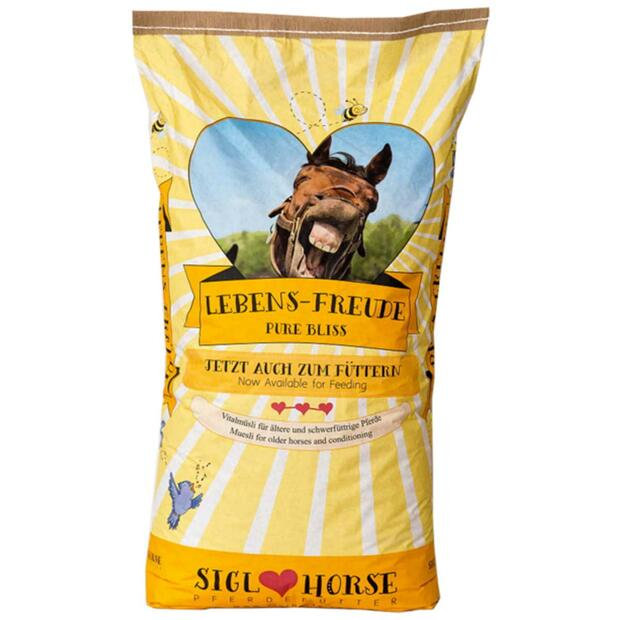 Siglhorse forage Lebensfreude for older horses