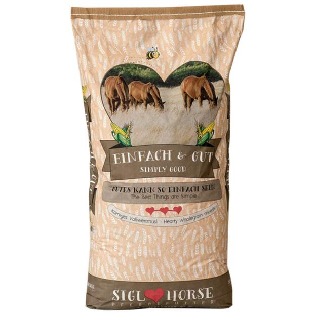 Siglhorse forage Einfach & Gut wholegrain cereal